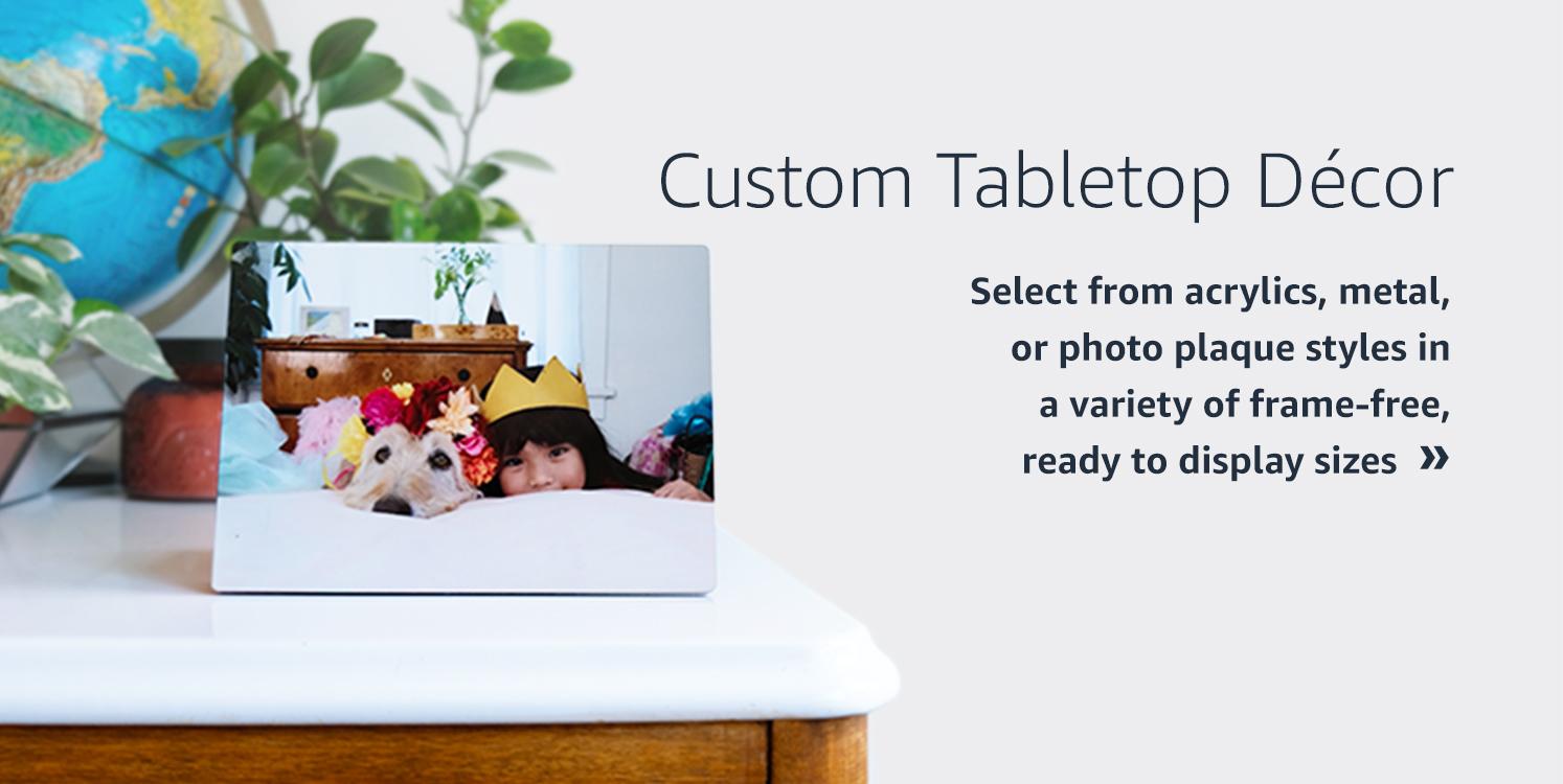 Custom Tabletop Decor