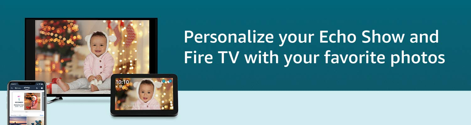 Personalize your Echo Show and Fire TV with your favorite photos