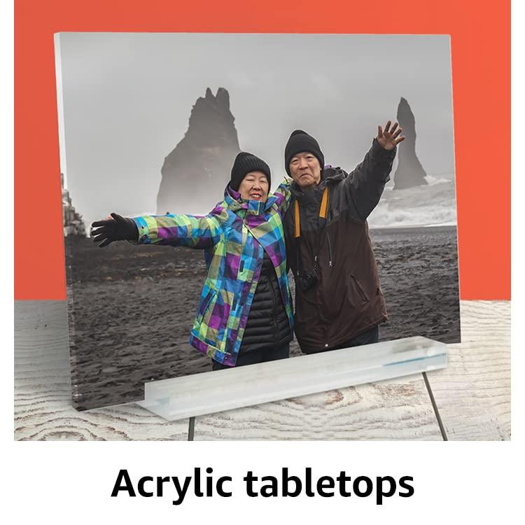 Acrylic tabletops