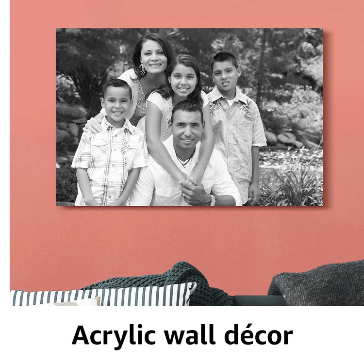 Acrylic wall decor