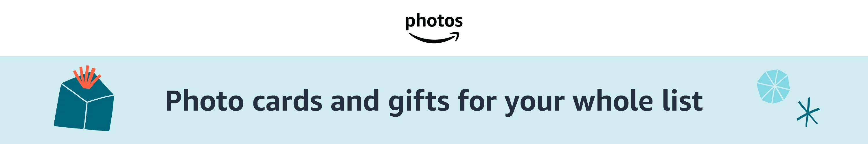 Photo cards and gifts for your whole list