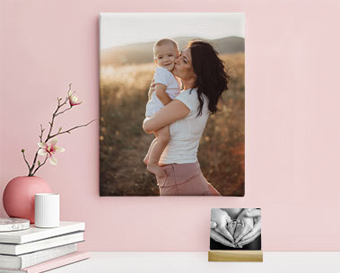 Photo gifts made for mom