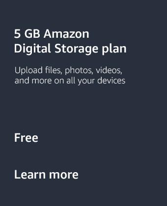 5 GB Amazon Digital Storage Plan