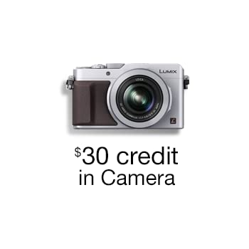 Free $30 Credit $40+ Order Camera Purchase