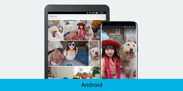 Photos on your Android