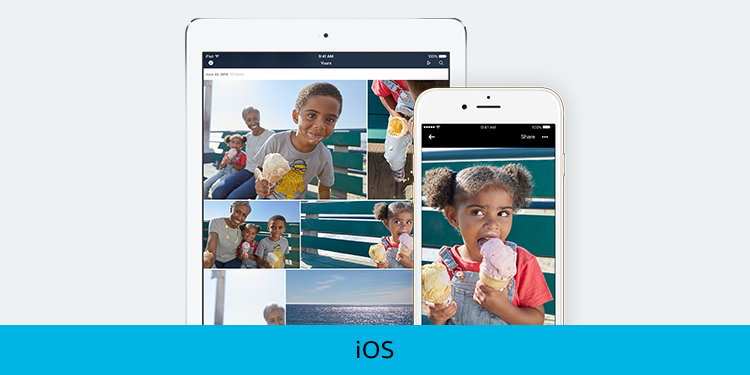 Photos on your iOS Device