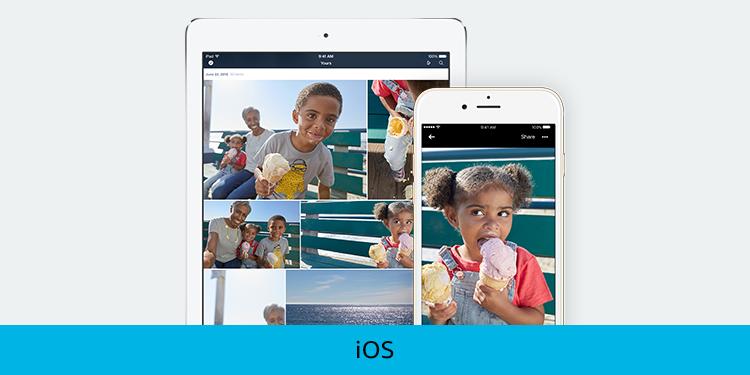 Photos on your iOS Device