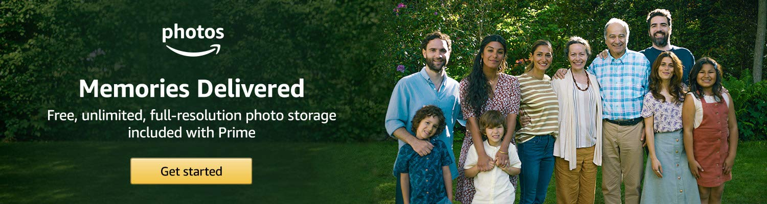 Amazon Photos: Unlimited full-resolution photo storage with Prime