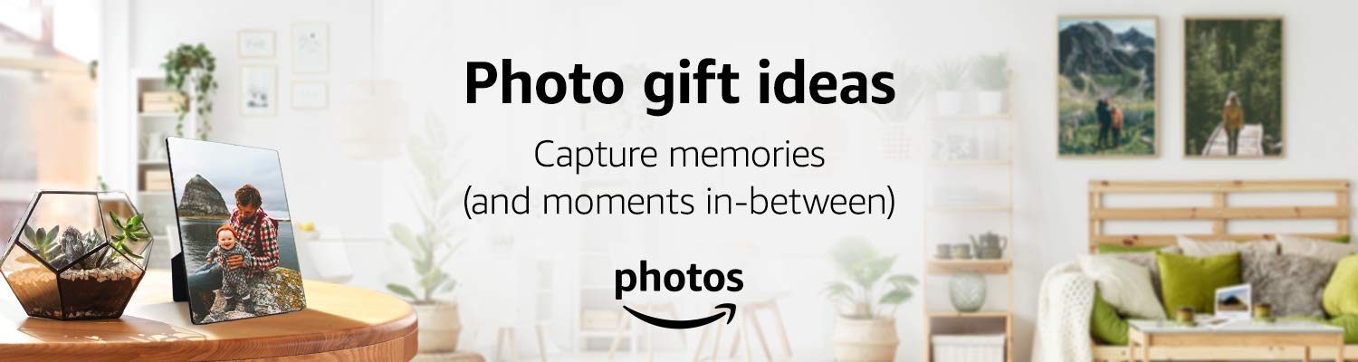 Photo gift ideas - Capture memories (and moments in-between)