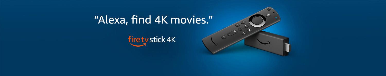 Alexa, find 4K movies | Fire TV Stick 4K