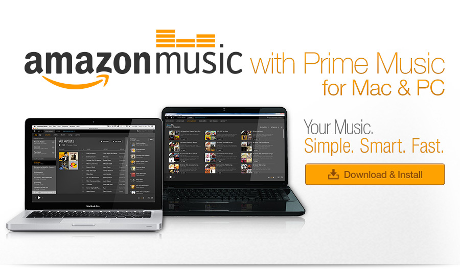 Amazon Music for PC and Mac
