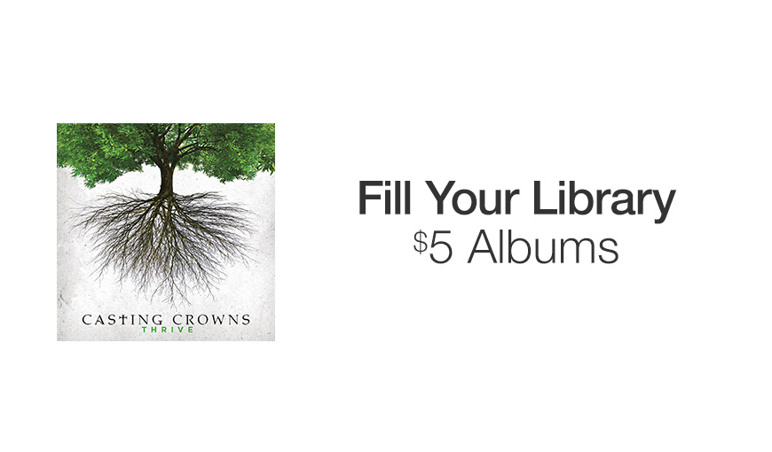 Fill Your Library: $5 Albums