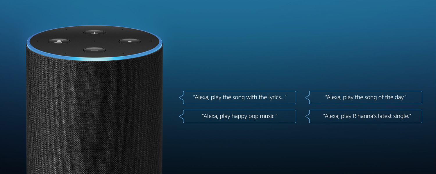 Better with Echo - Just ask. Play your favorite music with innovative Alexa voice controls, exclusive to Amazon Music.