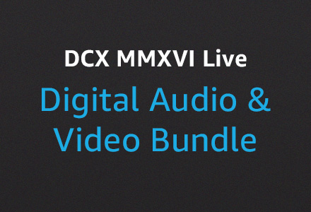 DCX MMXVI Live Digital Audio & Video Bundle