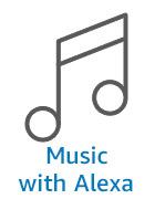 Music with Alexa