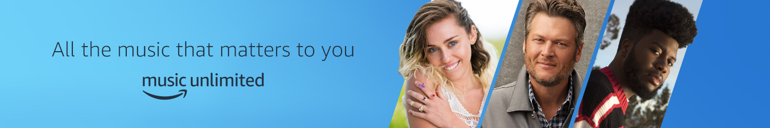 Amazon Music Unlimited. Stream all of the music that matters to you.
