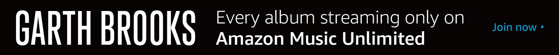 Garth Brooks and Amazon Music
