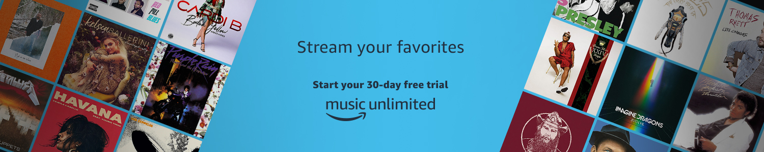 Amazon Music Unlimited. Stream all of your favorite music. Start your 30 day free trial.