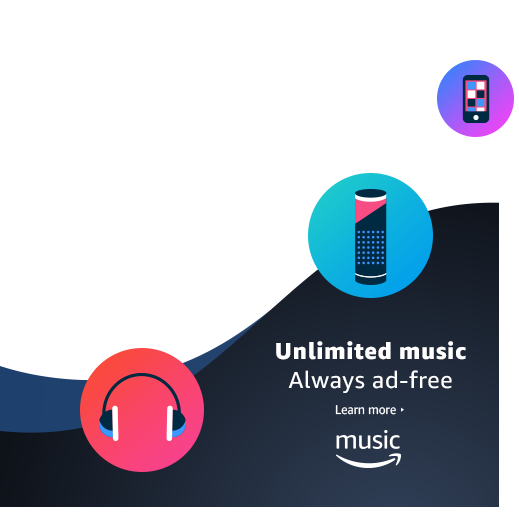 Unlimited music. Always ad-free.