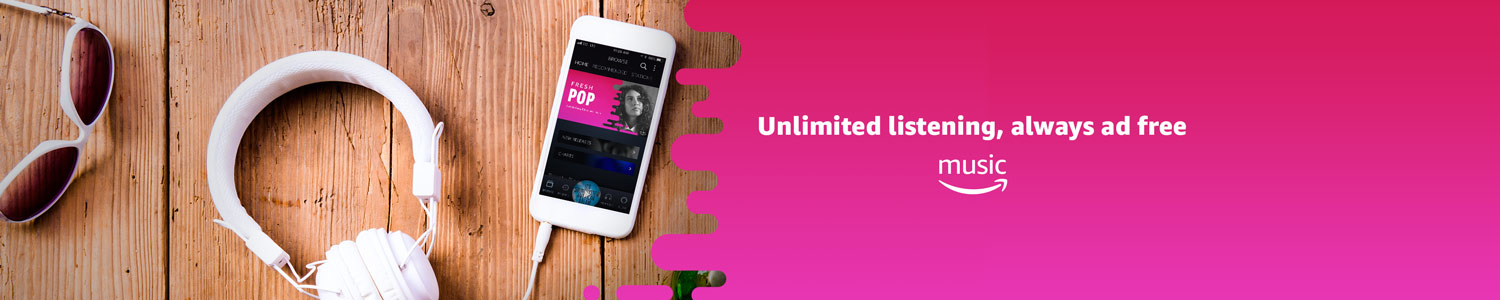 Unlimited Listening Always Ad Free Amazon Music Learn More