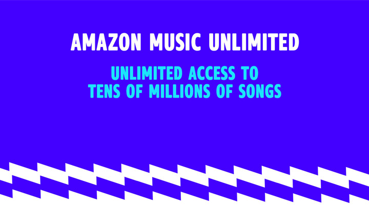 Amazon Music Unlimited. Unlock access to tens of millions of songs. Just $7.99 a month for Prime Members. Non-prime price is $9.99 a month. New subscribers start with a 30-day free trial.