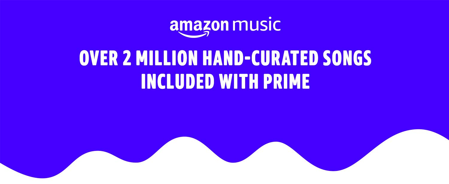 Amazon Music. Over two-million songs included with Prime. Listen now