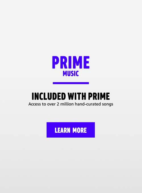 Prime Music, included with Prime, Access to over 2 million hand-curated songs