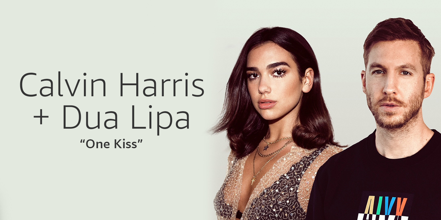 Calvin Harris and Dua Lipa