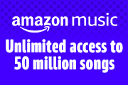 Unlimited access to 50 million songs