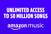 Unlimited access to 50 million songs.