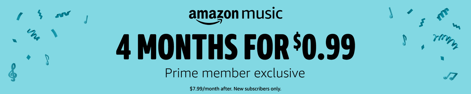Prime Exclusive: 4 Months for $0.99