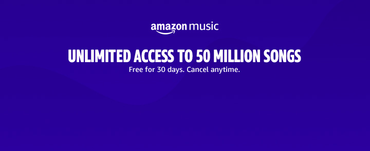 Amazon Music. Over 2 million songs included with Prime