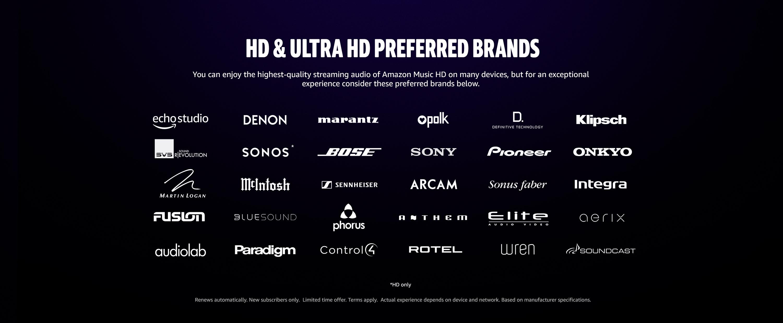 HD Preferrer brands