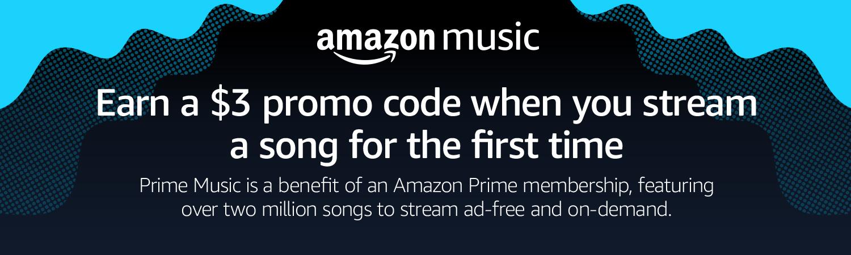 Amazon com: $3 Prime Music Promotion: Digital Music