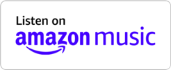 Listen on Amazon Music Button in white