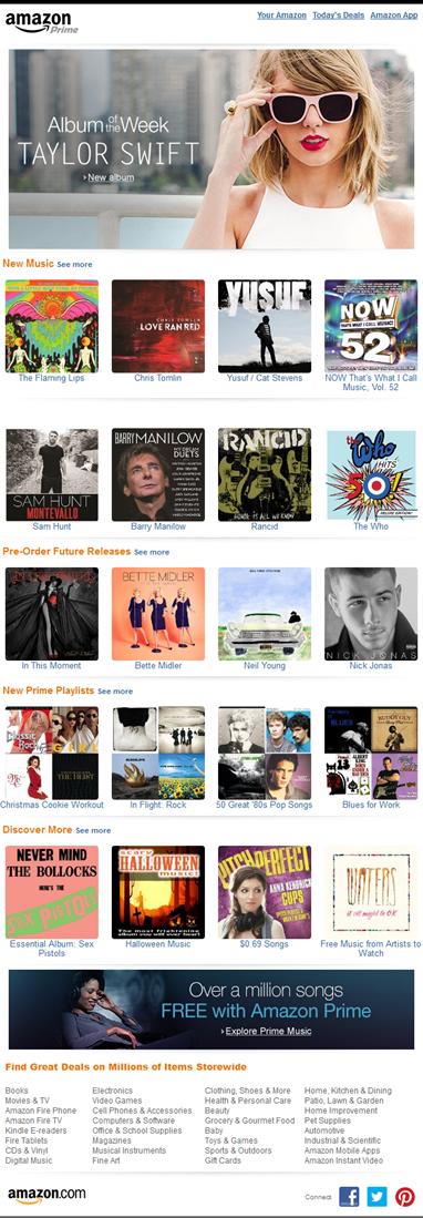 Digital Music Newsletter Preview