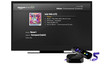 Roku XS with Amazon Cloud Player integrated