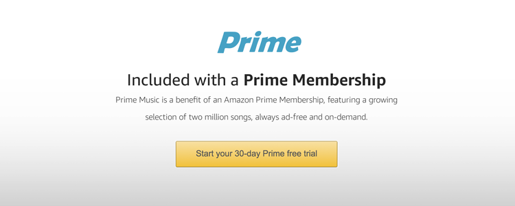 amazon free music trial