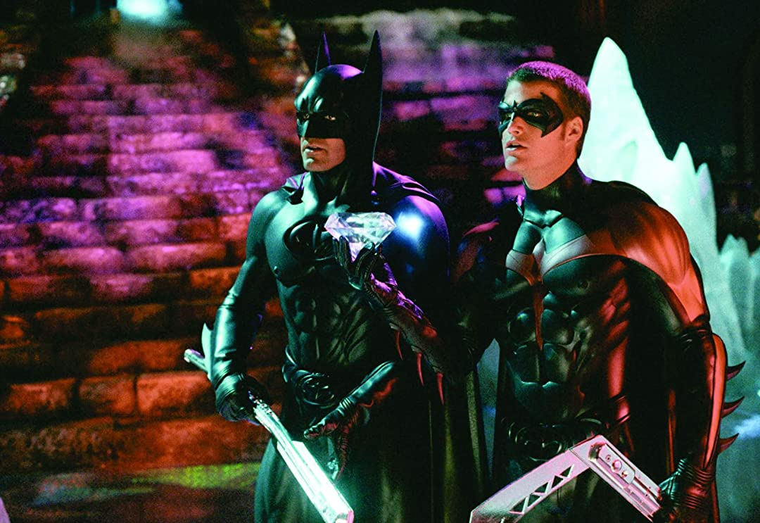 Amazon Com Batman Robin 1997 Arnold Schwarzenegger George Clooney Chris O Donnell Uma Thurman