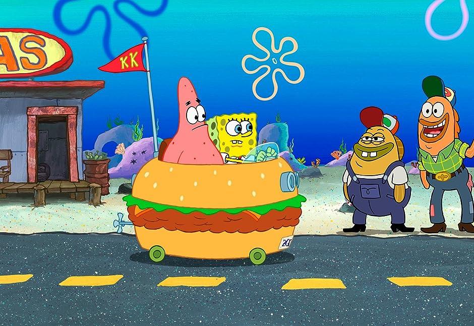 Amazon.com: The SpongeBob SquarePants Movie: Tom Kenny, Clancy Brown ...