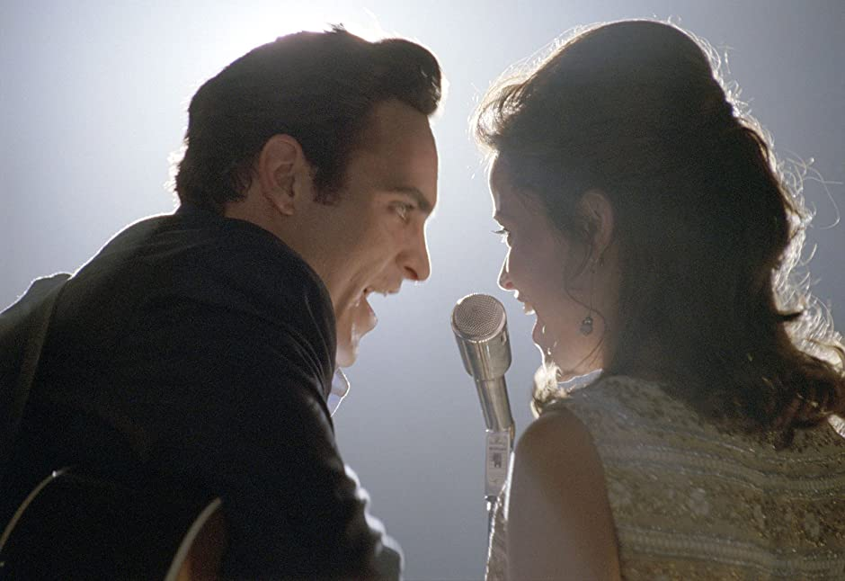 Joaquin Phoenix Reese Witherspoon Walk The Line