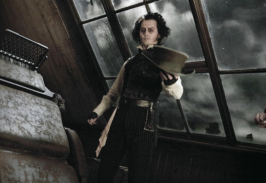 Sweeney Todd The Demon Barber Of Fleet Street Johnny Depp Helena Bonham Carter Alan Rickman Timothy Spall