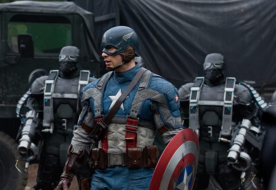 Image result for Captain America: The First Avenger