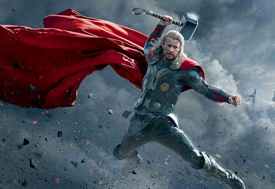 Amazon Com Thor The Dark World With Digital Exclusive Bonus Features Chris Hemsworth Natalie Portman Tom Hiddleston Anthony Hopkins Amazon Digital