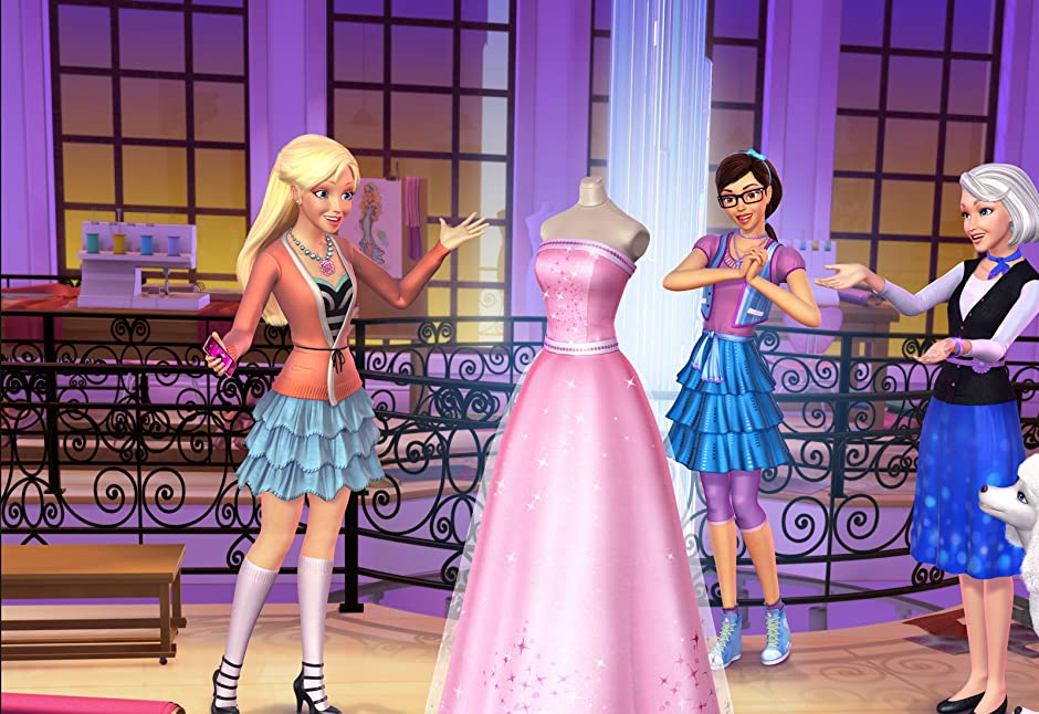 Watch barbie a fashion fairytale 90