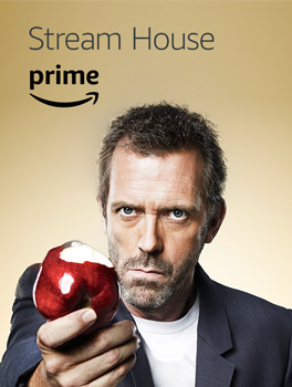 Stream the full series of House, now available with your Prime membership on Prime Video