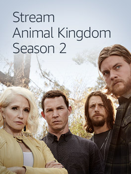 Stream Animal Kingdom season 2, available with your Prime membership on Prime Video
