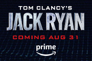 Tom Clancys Jack Ryan. Coming August 31 to Prime Video.