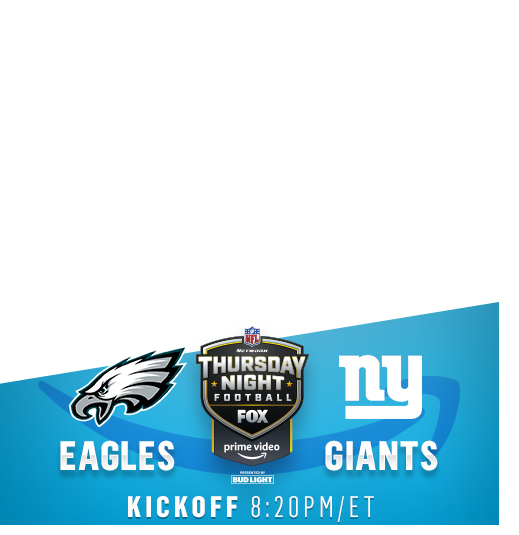 Thursday Night Football: Philadelphia Eagles vs. New York Giants