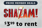 $3.99 to rent Shazam! on Prime Video